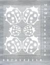 Nažehlovací folie 22x50 cm - svítící ve tmě