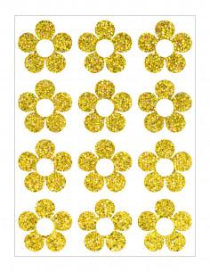 Iron glitter foil - 22 x 50 cm