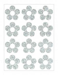 Třpytivá nažehlovací folie - 22 x 50 cm