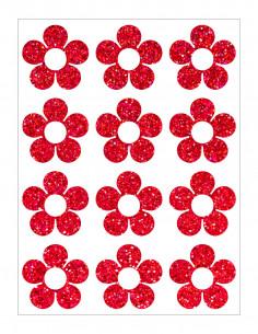 Třpytivá nažehlovací folie - 9 x 12 cm