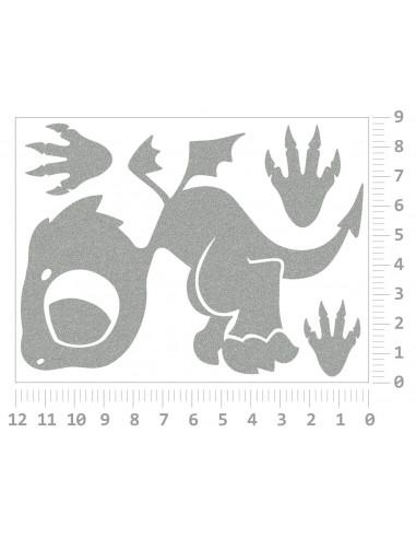 Žirafy II - reflexní potisk