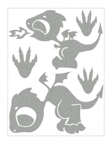 Sloni I - reflexní potisk