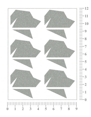 Nažehlovací folie - 32 x 50 cm