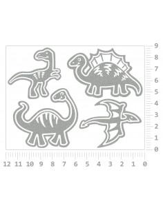 Nažehlovací REFLEXNÍ potisk - Kočky II